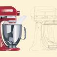 Kitchenaid vectoriel+colorisation