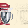 Kitchenaid vectoriel+colorisation