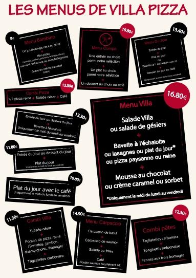 Page menus